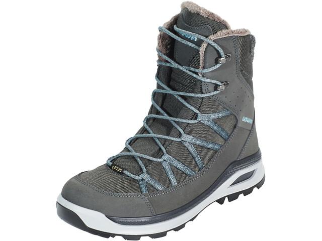 Rabatt zum Verkauf am besten online hoch gelobt Lowa Montreal GTX Mid Cold Weather Boots Damen anthracite/bluegrey
